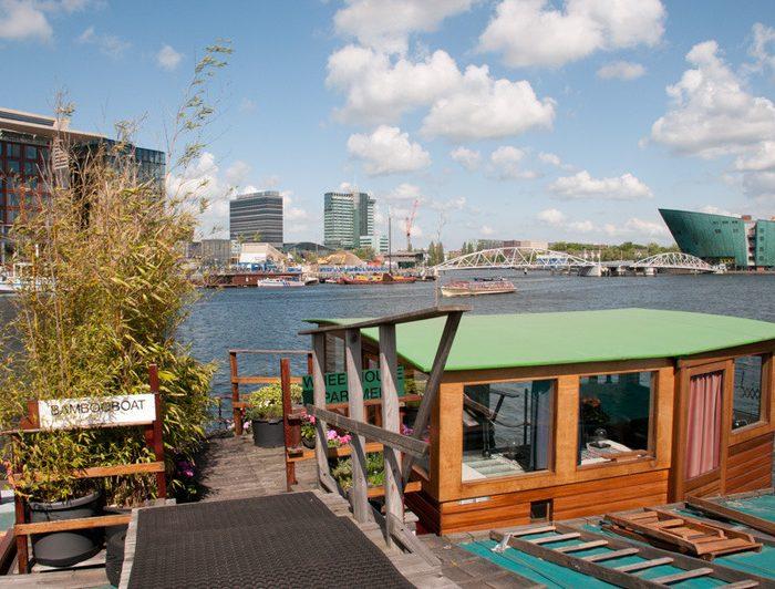 Bambooboat Houseboat Rental Amsterdam