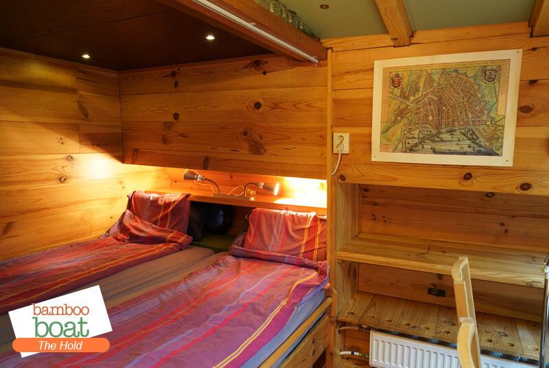 bamboo boat houseboat rental amsterdam